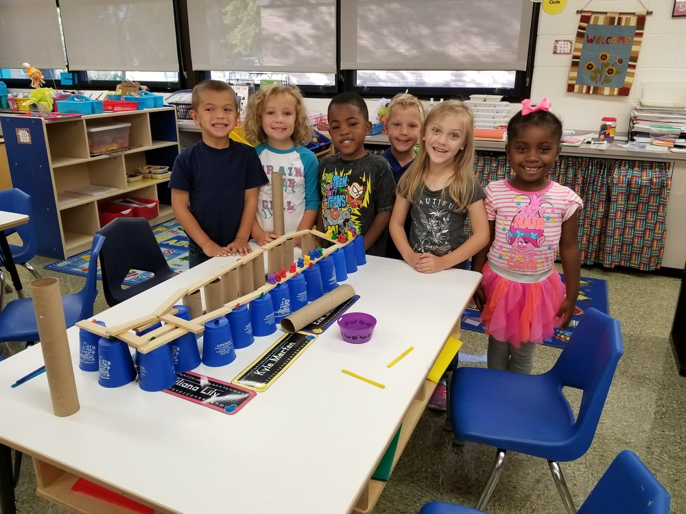 Fun with STEM in Kindergarten