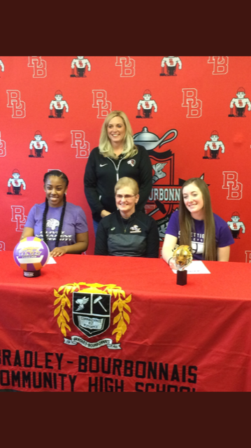 Former BUGC volleyball players commit to ONU