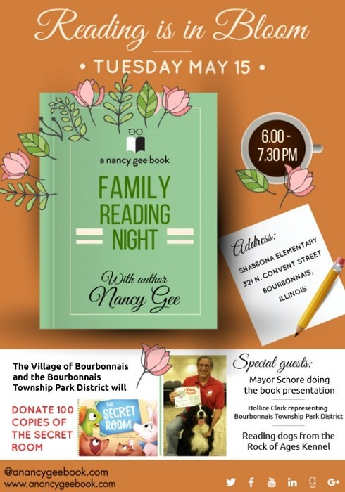 Reading is in Bloom Flyer
