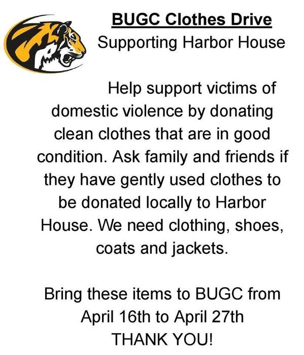 Harbor House Clothes Drive