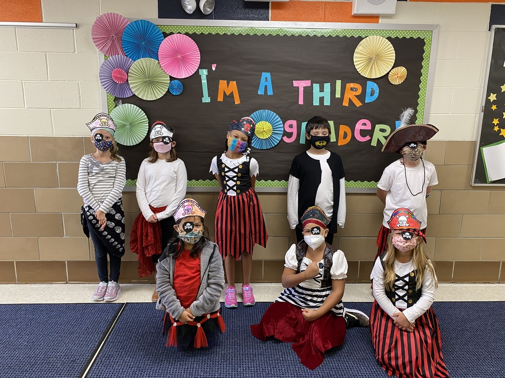 Some of Mrs. Trimby's pirates